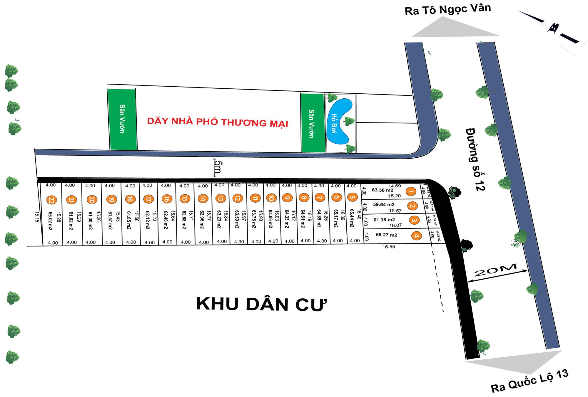 Dự án Khu dân cư cao cấp Đồng Khởi – Q.Thủ Đức