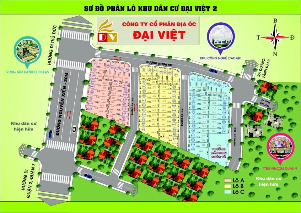 Dự án Khu dân cư Đại Việt – Mặt tiền đường Nguyễn Xiển