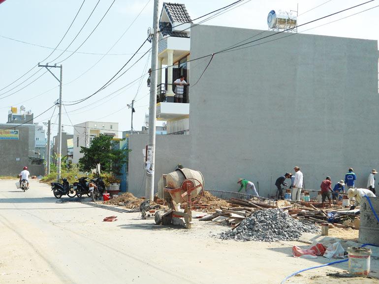 Lô đất trong dự án RioCasa sát bên chợ Long Trường