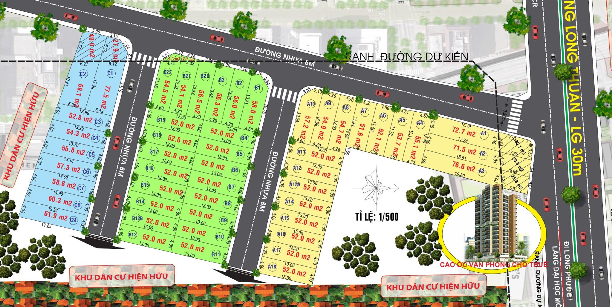 Dự án Khu dân cư cao cấp Long Thuận City – Quận 9