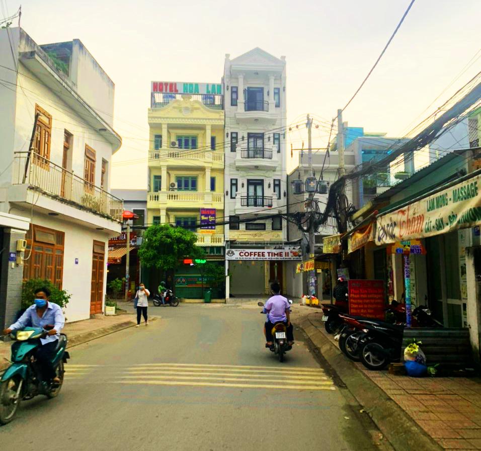Lô đất mặt tiền đường 22 tặng bản vẽ xây dựng căn hộ dịch vụ 65 phòng