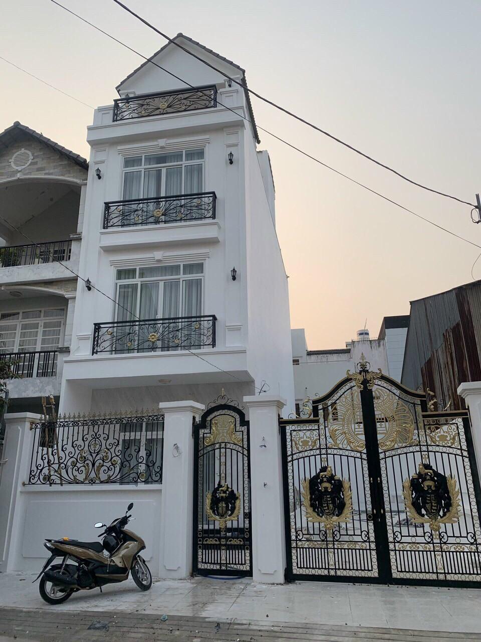 Cho thuê nhà 1 trệt 2 lầu sau cơm tấm Kiều Giang vòng xoay Phú Hữu